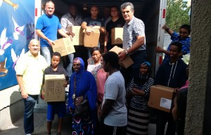 For the past eight years now, District Council 46 has been proud to lend a helping hand and school supplies to thousands of students who live in the Jane/Finch Community in Toronto.