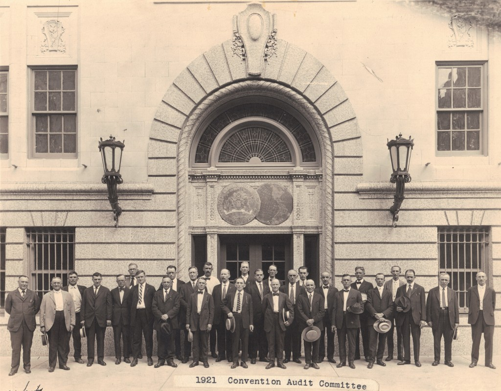 1921 Convention Audit Committee
