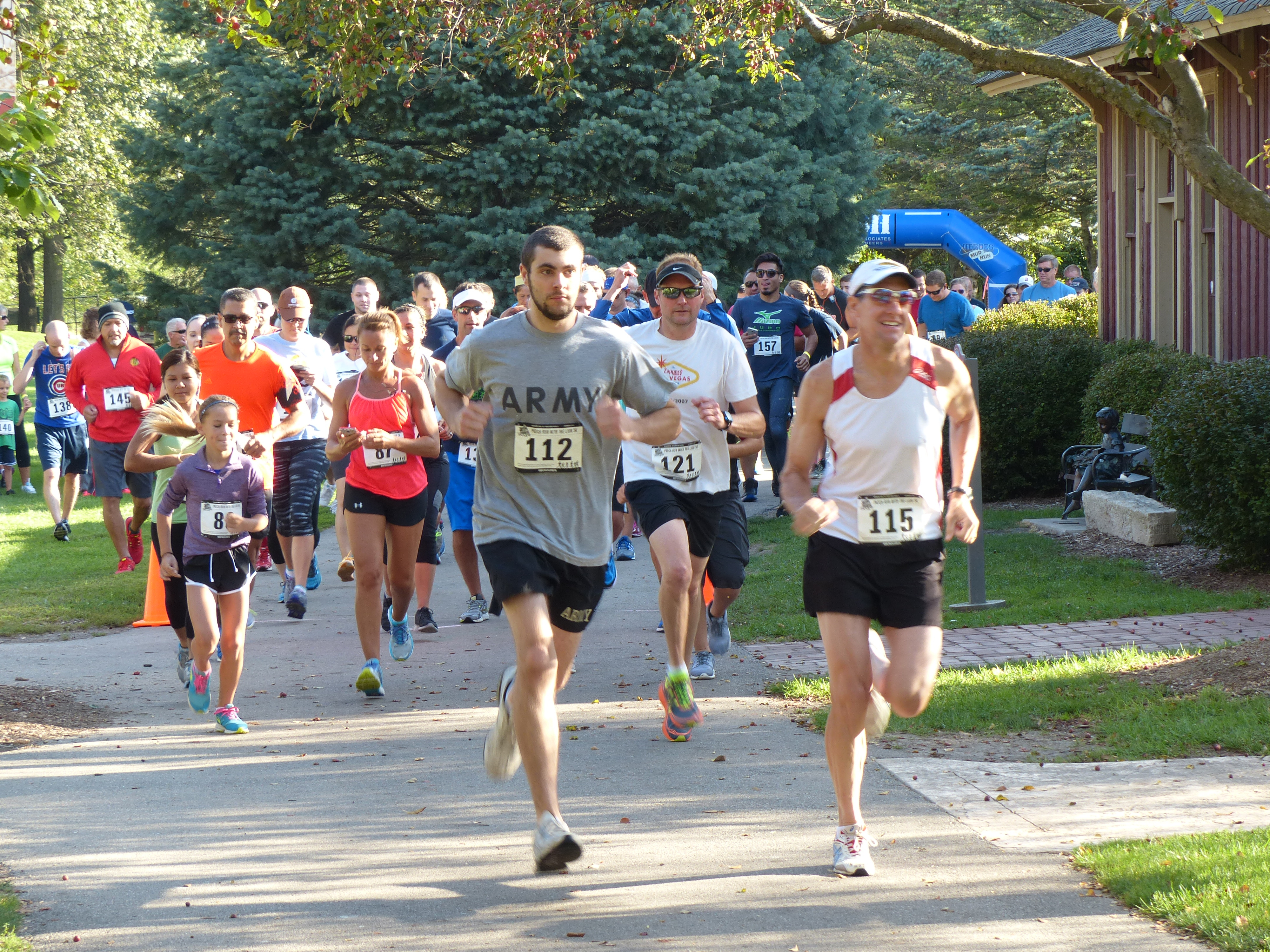 District Council 30 held its first annual PATCH Run with the Lion 5K at Blackberry Farm in Aurora, Illinois.