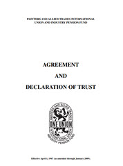 Agreement and Declaration of Trust