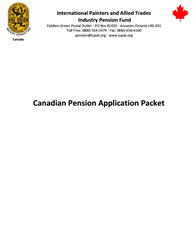Canadian Pension Application