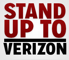 stand up to verizon logo